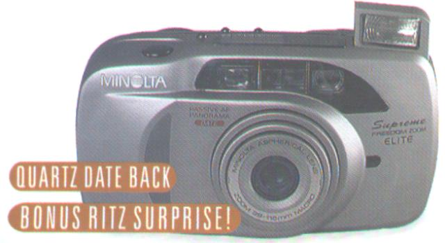 Minolta Supreme Freedom Zoom Ex - Just Me And Supreme